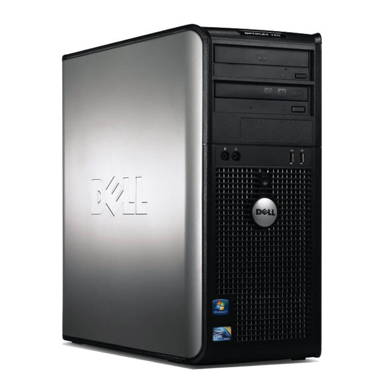 DELL 780 TOWER C2D 2.9 E7500  / 8192 MB DDR3 / 250 GB / DVD / WINDOWS 10 PRO