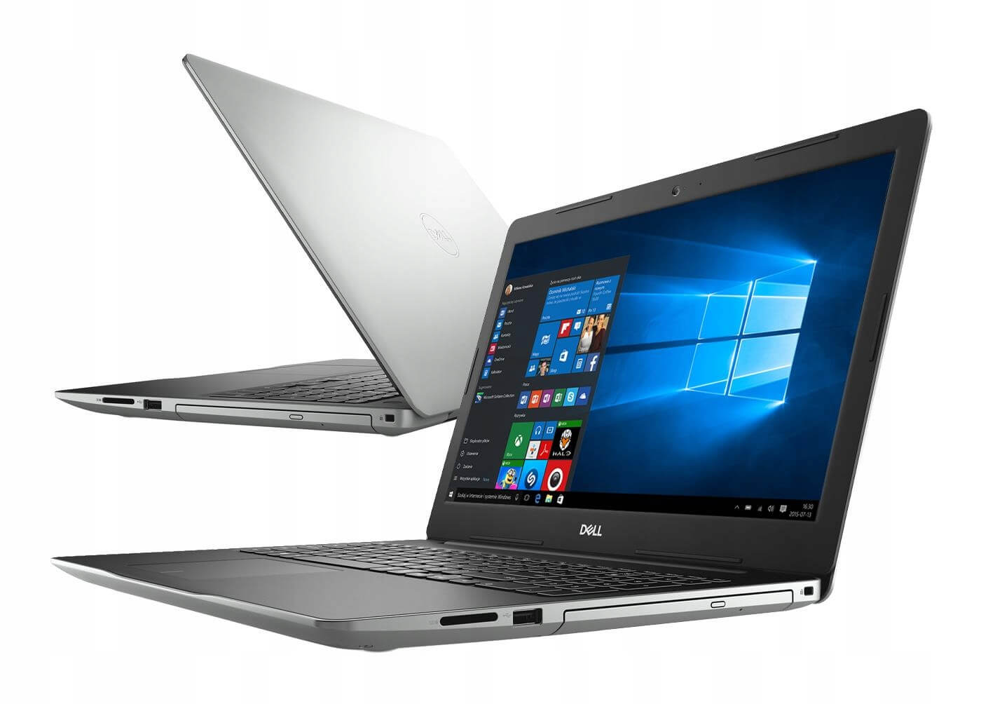 DELL INSPIRION 15 3581-4923 INTEL CORE I3-7020U 2.3 / 8192 MB DDR4 / 480 GB SSD / WINDOWS 10 HOME / 15.6