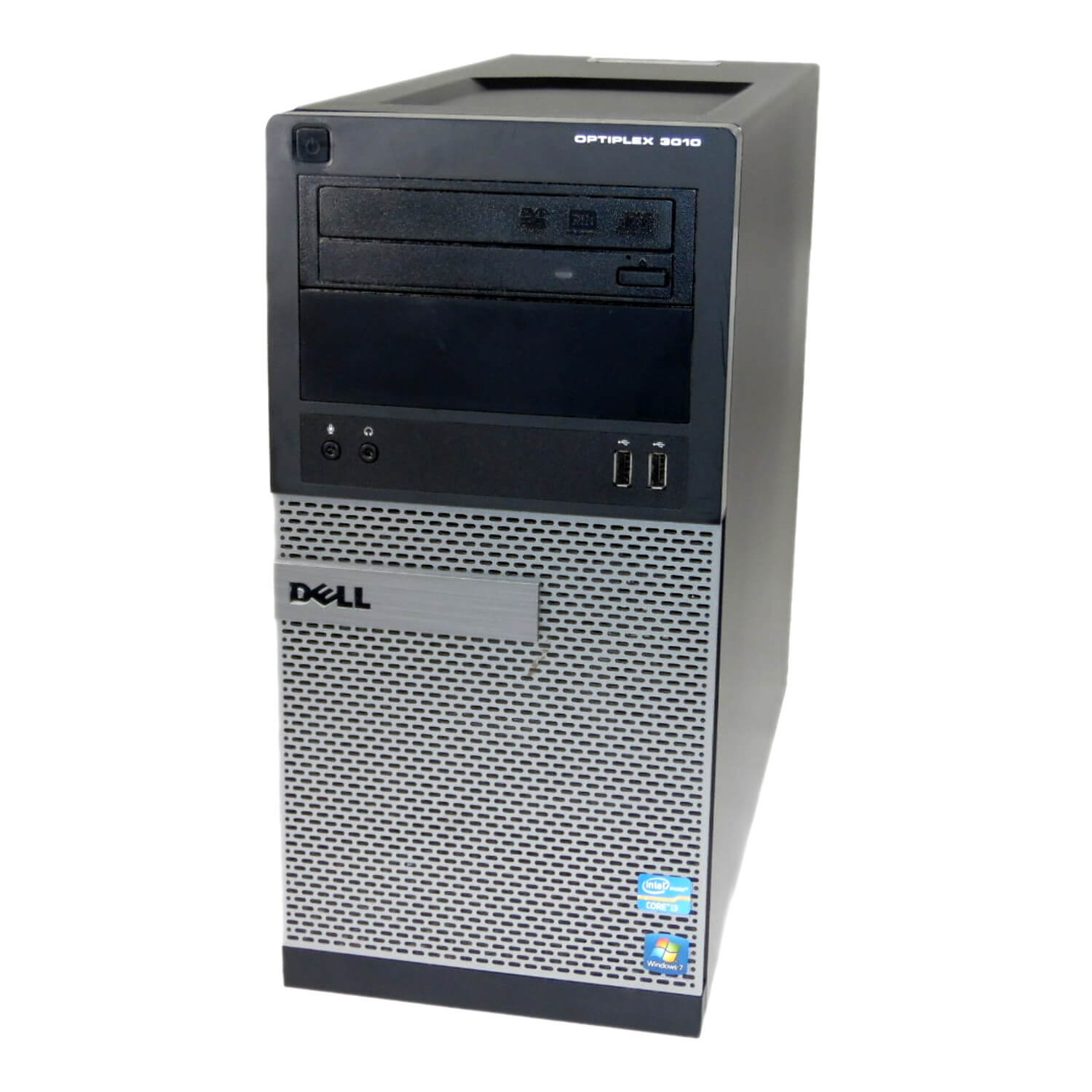 DELL 3010 TOWER I5-3470 3.2 / 8192 MB DDR3 / 120 GB SSD NOWY + 500 GB / DVD-RW / WINDOWS 10 PRO