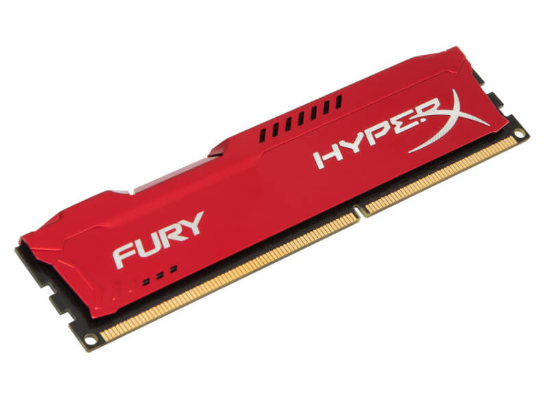 PAMIĘĆ RAM KINGSTON HYPERX FURY RED DDR3 4GB 1600 MHz SINGLE DO PC