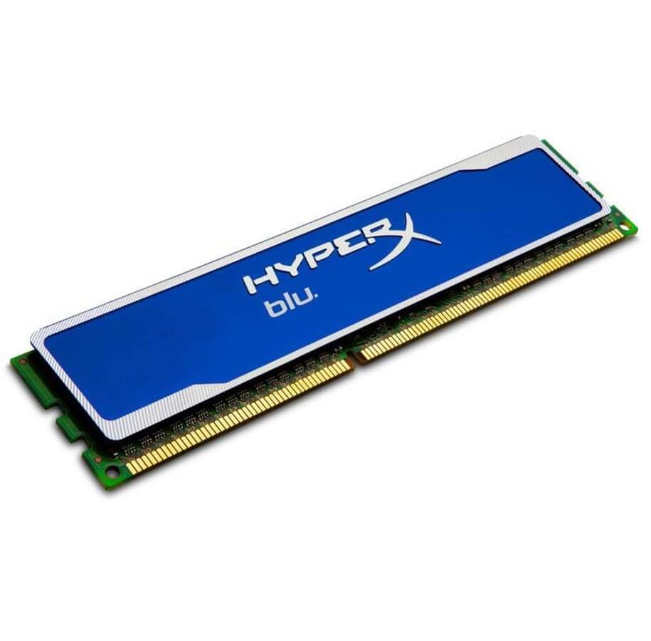 RAM HYPERX BLU DDR3 4GB 1333 MHz SINGLE PC