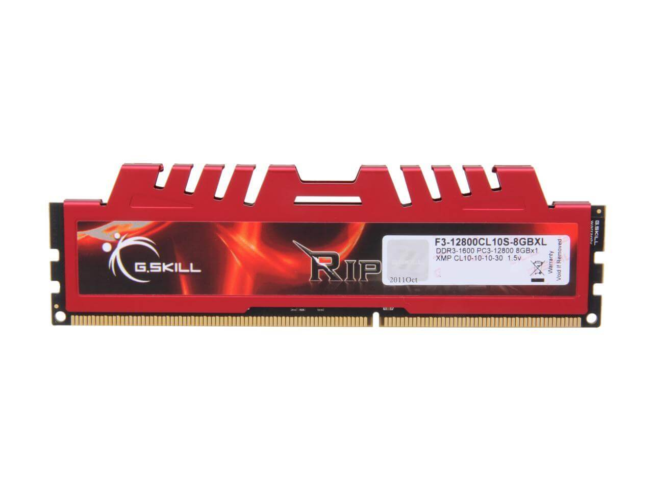 RAM GSKILL RIPJAWS X DDR3 4GB 1333 MHz PC