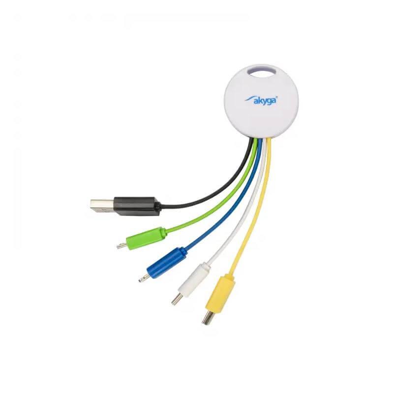 AKYGA ADAPTER USB-A USB-C MICRO-USB MINI-USB AK-AD-51