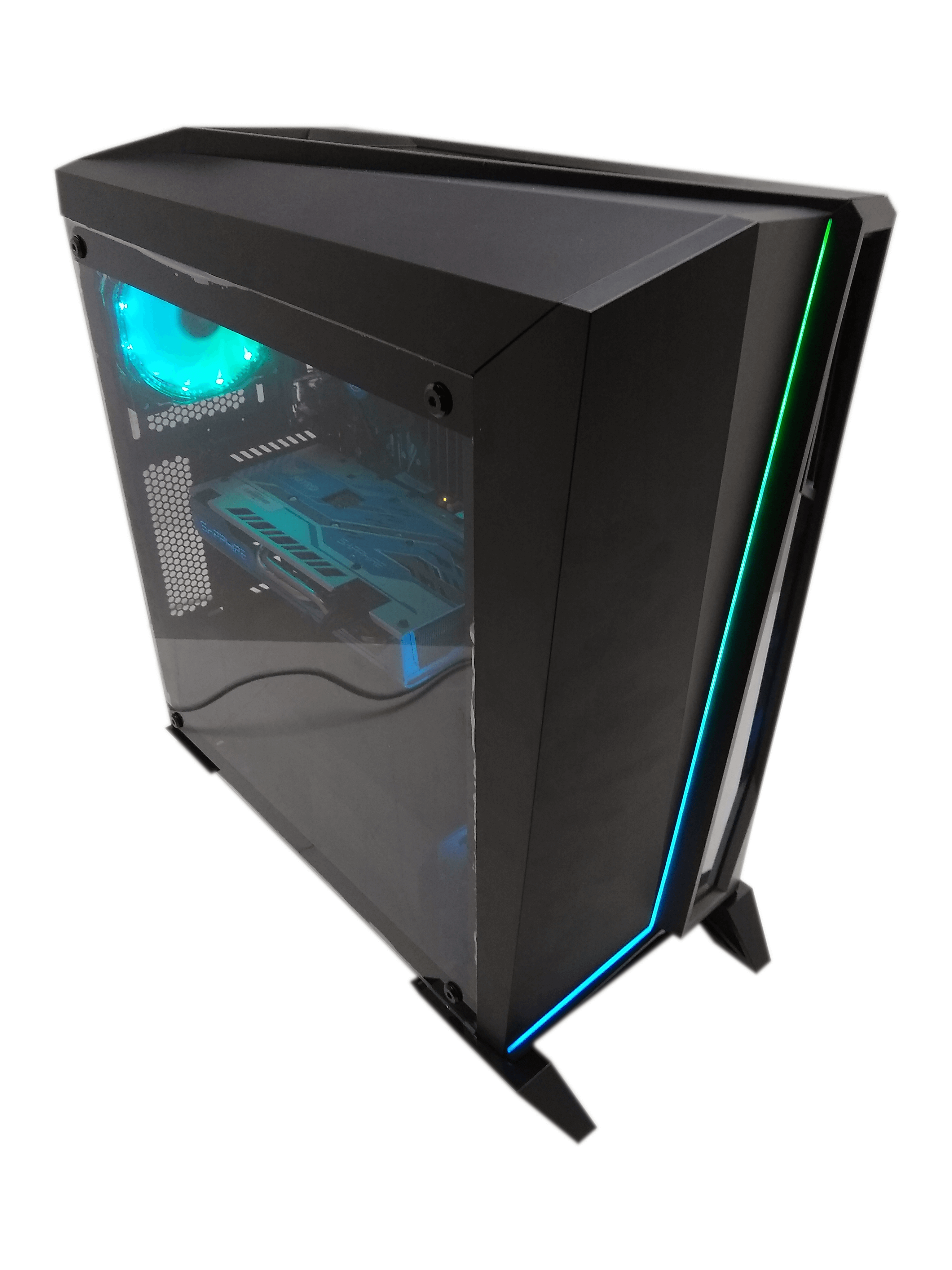 INTEXPC MYSTIC I7-6700 3.4 / 16 GB DDR4 / 480 GB SSD NOWY + 500 GB HDD / WINDOWS 10 PRO / RADEON RX580 8GB