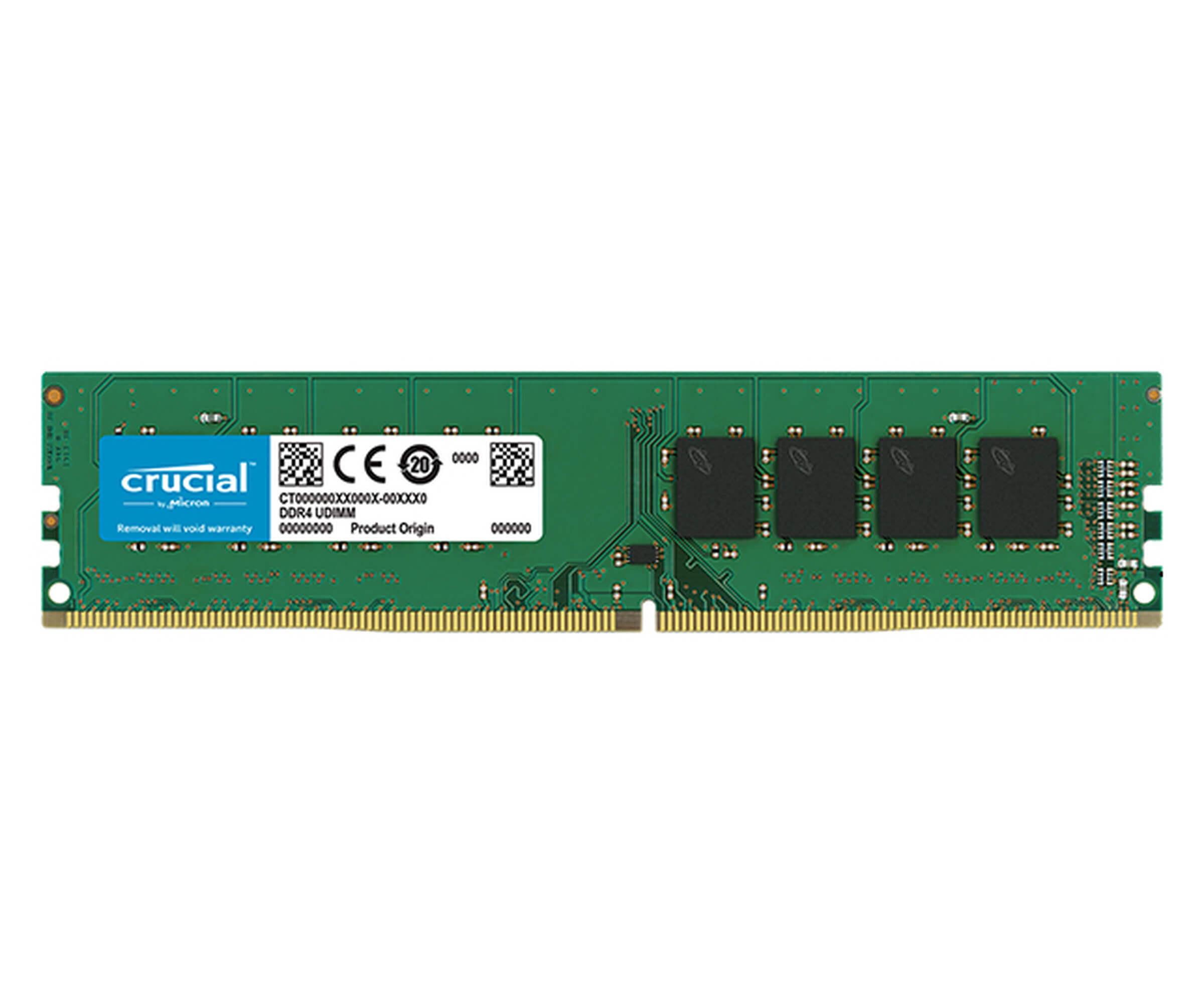 PAMIĘĆ RAM CRUCIAL DDR4 4GB 2400 MHz CL17 DO PC OUTLET