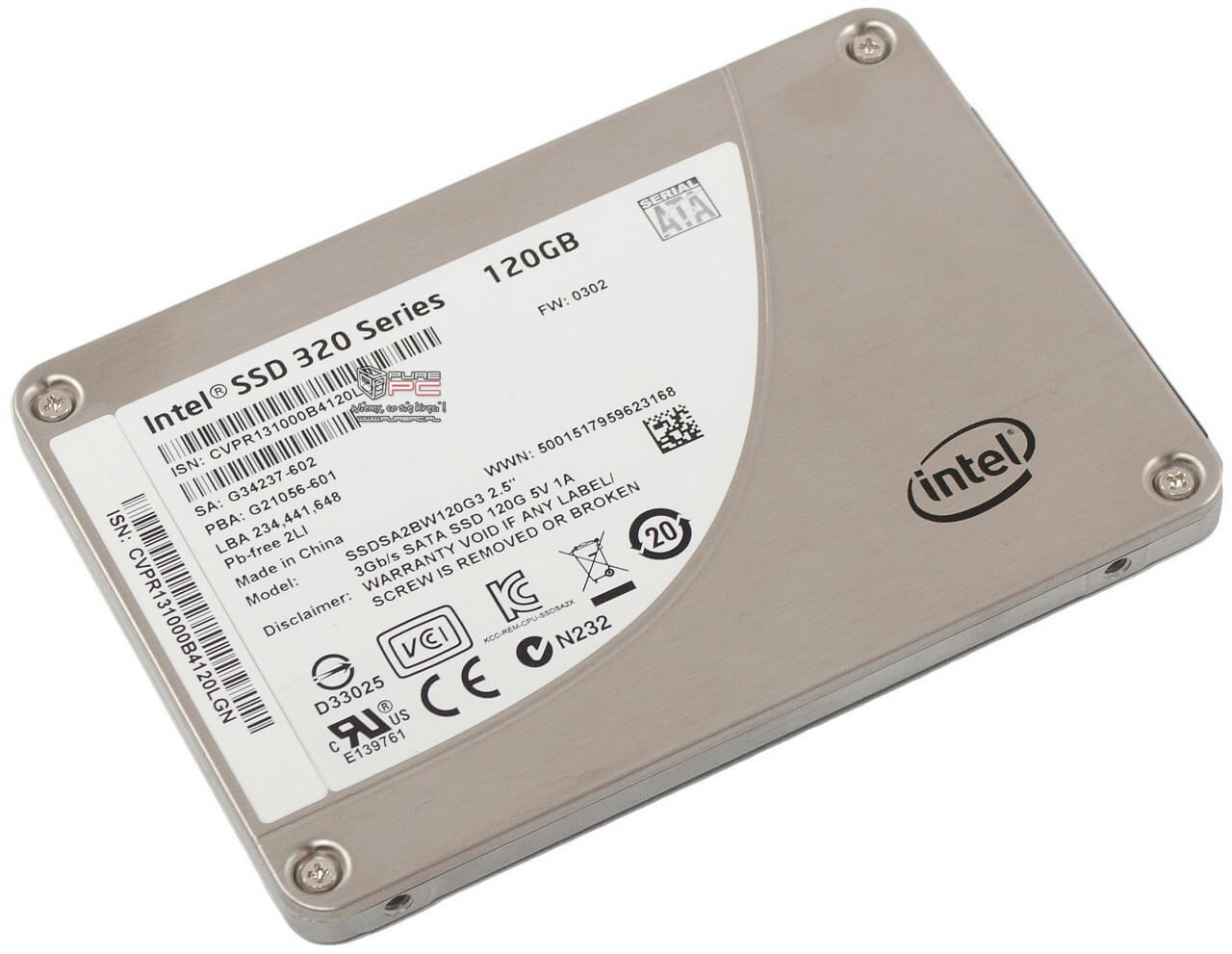 DYSK SSD INTEL SSD 320 SERIES 2.5