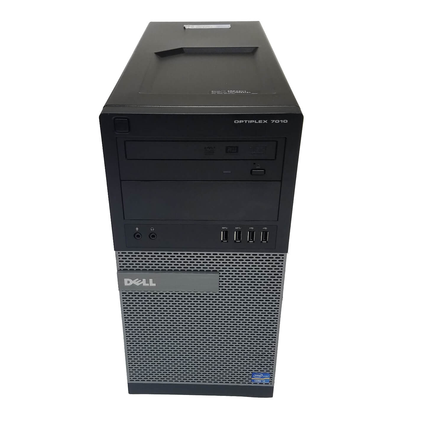 DELL 7010 TOWER I5-3470 3.2 / 8192 MB DDR3 / 256 GB SSD / DVD-RW / WINDOWS 10 PRO
