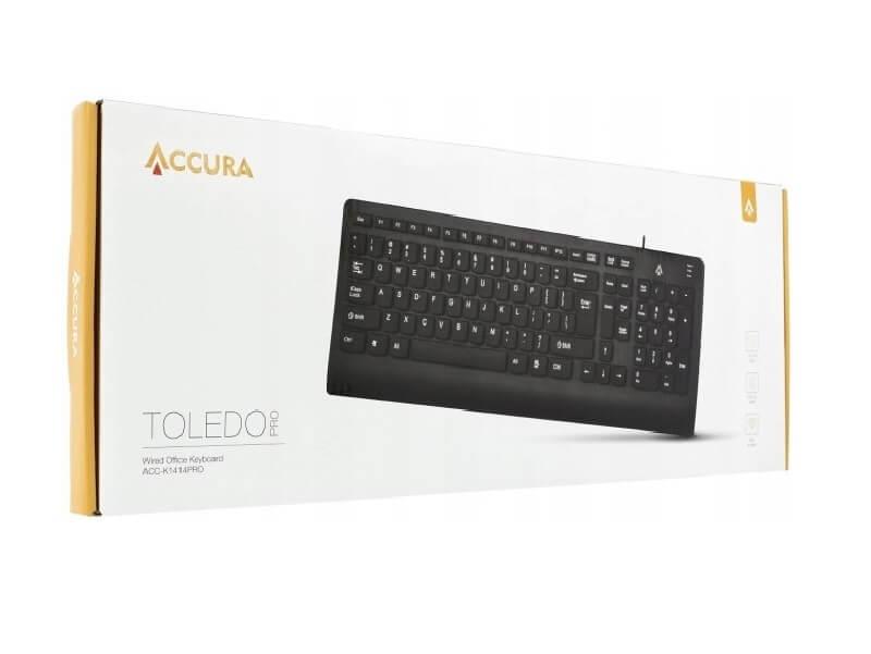 ACCURA TOLEDO PRO CZARNA USB NOVE