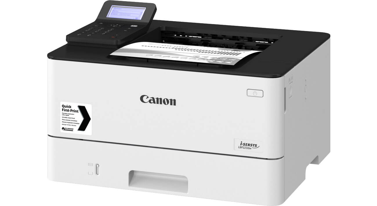 CANON i-SENSYS LBP223dw USB 2.0 WiFi ETH Duplex
