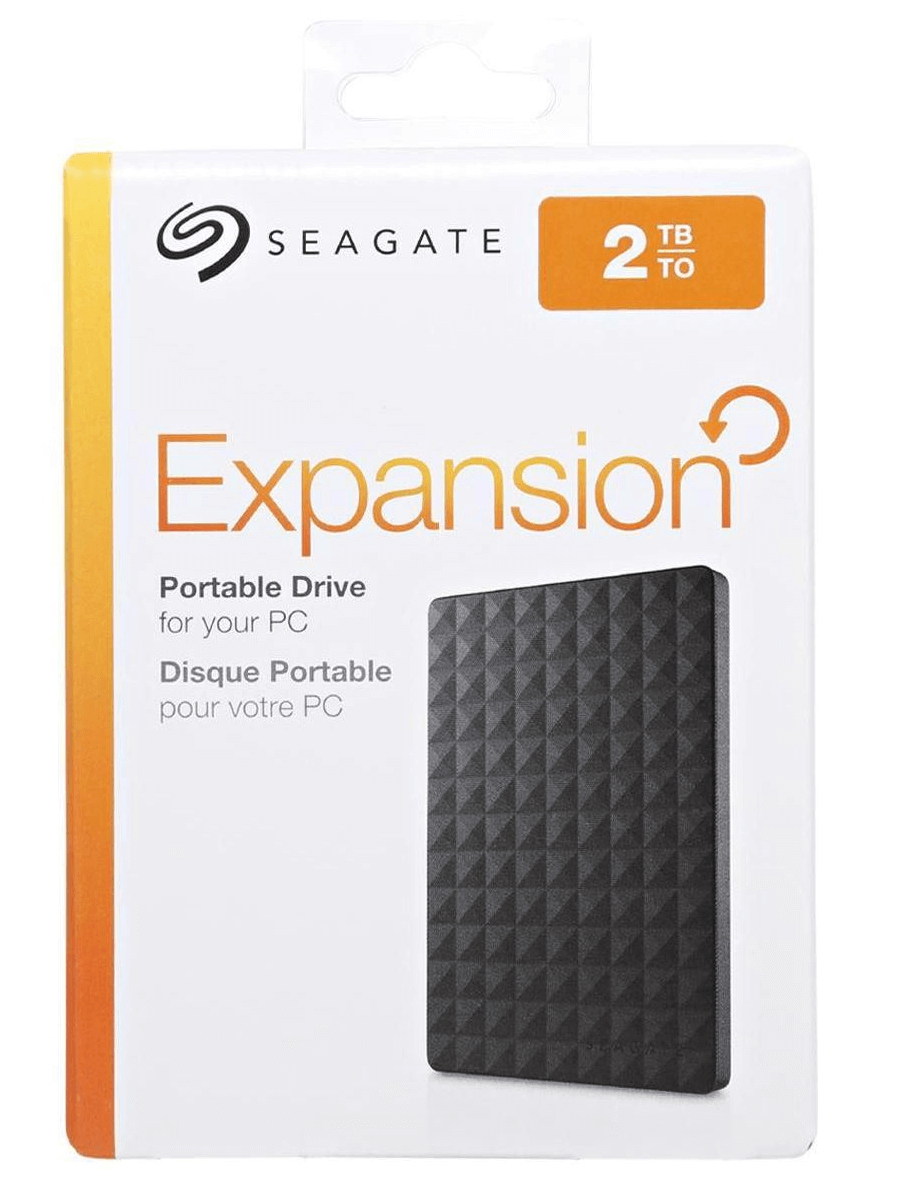 SEAGATE EXPANSION PORTABLE 2TB 2,5