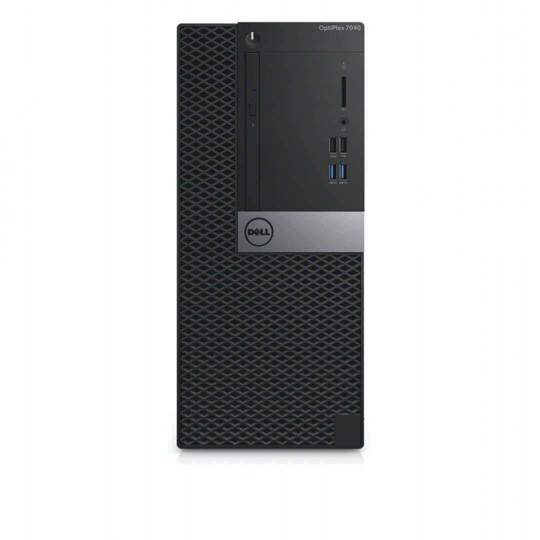 DELL 7040 MINI TOWER I5-6500 3.2 / 16384 MB DDR4 / 128 GB SSD + 500 GB / DVD-RW / WINDOWS 10 PRO / PALIT GTX1650 SUPER 4GB NOWA