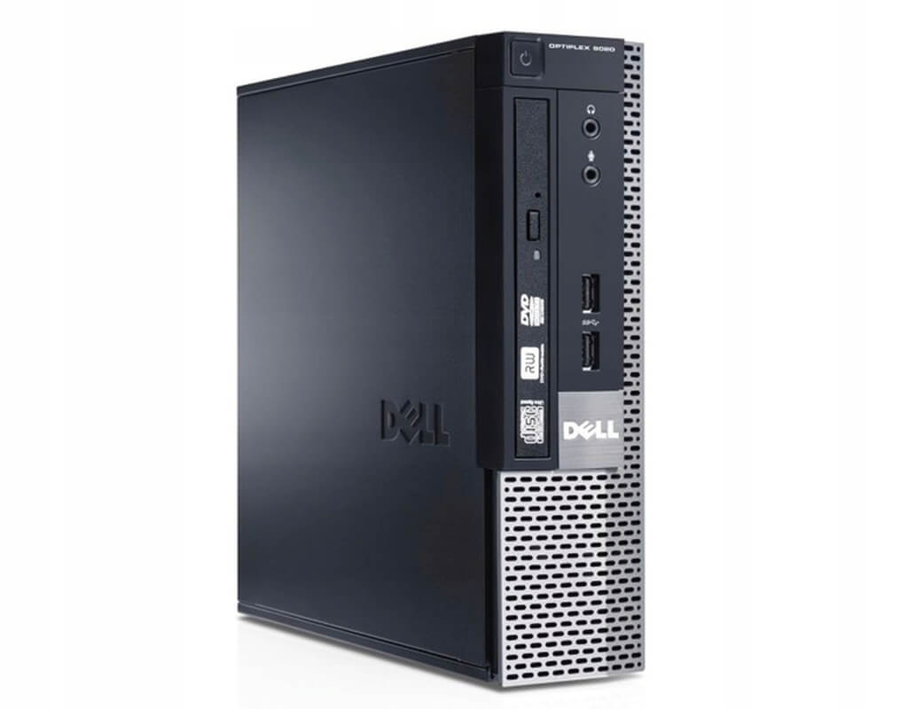 DELL 9020 USFF I5-4570S 2.9 / 8192 MB DDR3 / 128 GB SSD / DVD-RW / WINDOWS 10 PRO REF