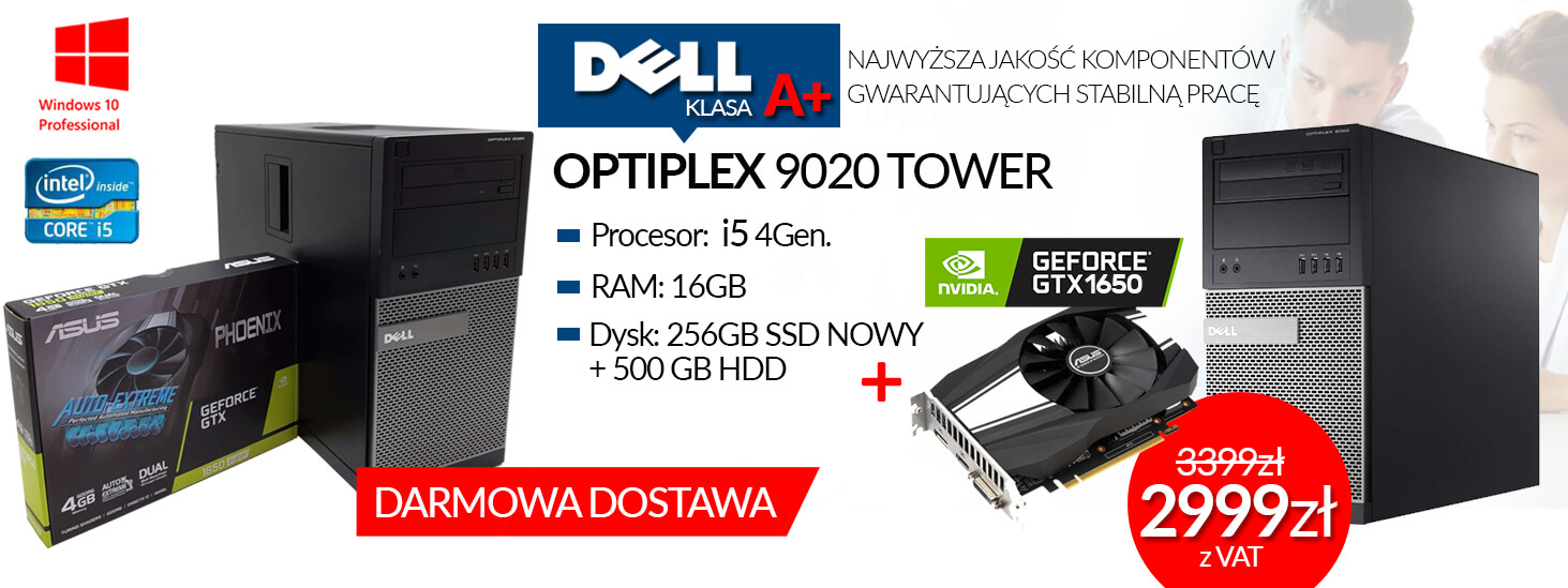 BANER DELL 9020 TOWER Z GTX 1650
