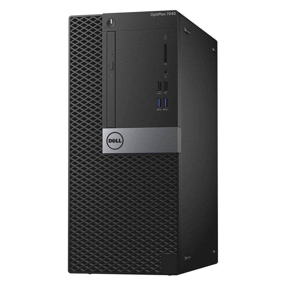 DELL 7040 MINI TOWER I5-6400 2.7 / 32 GB DDR4 / 512 GB SSD NOVE / DVD-RW / WINDOWS 10 PRO / ASUS GEFORCE GTX 1650 4GB GDDR6 128 BIT NOVE