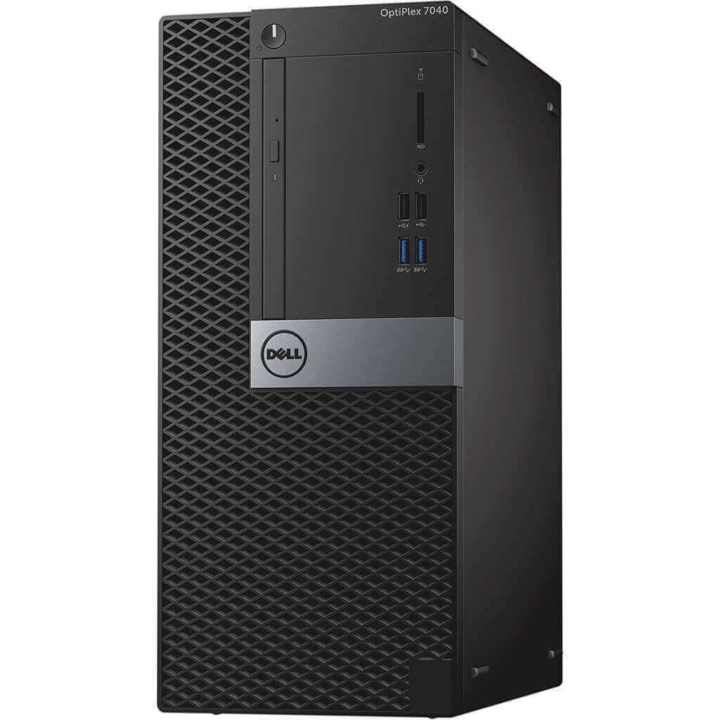 DELL 7040 MINI TOWER I5-6400 2.7 / 16384 MB DDR4 / 256 GB SSD / DVD-RW / WINDOWS 10 PRO / ASUS GTX1650 4GB NOVE