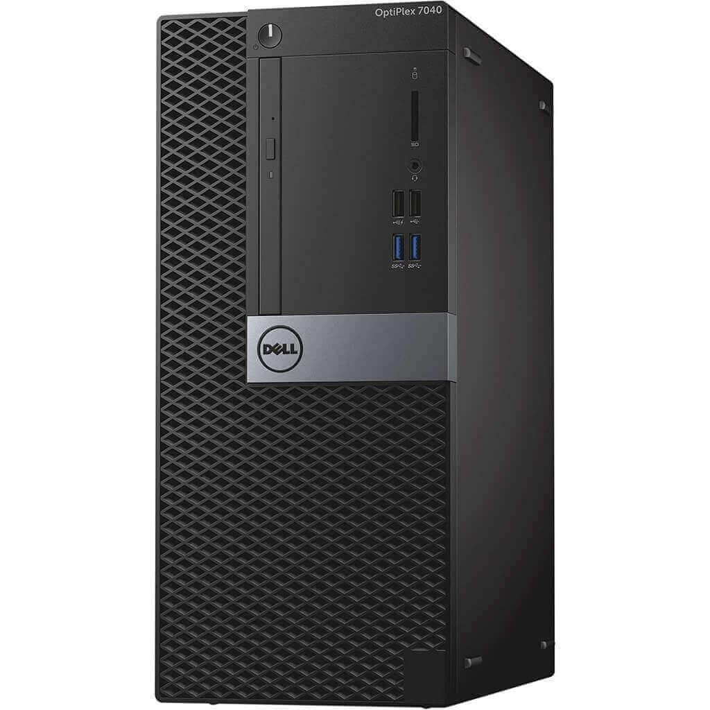 DELL 7040 MINI TOWER I5-6400 2.7 / 16384 MB DDR4 / 256 GB SSD / DVD-RW / WINDOWS 10 PRO / PALIT GTX1050TI 4GB NOVE