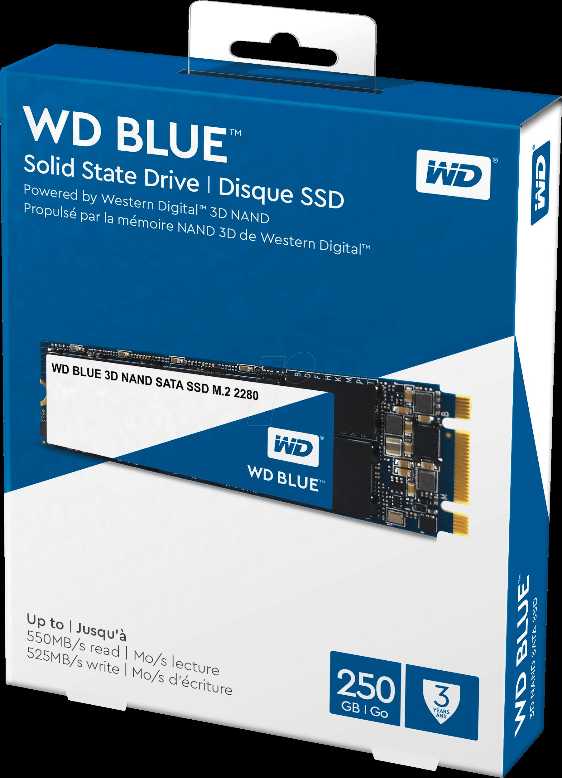 SSD WD BLUE NAND 250GB M.2 NOVE