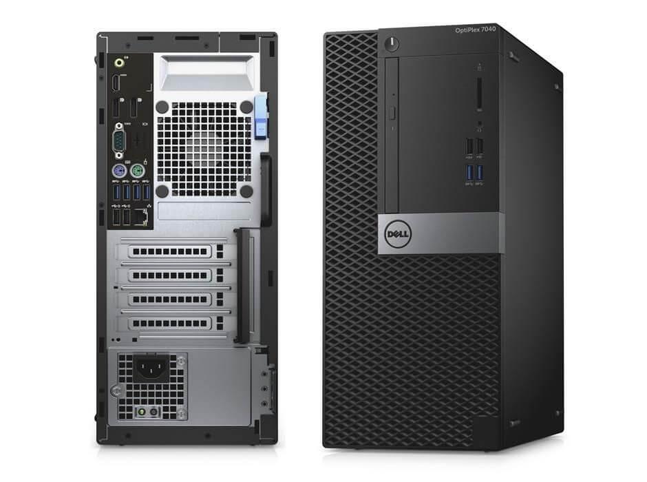 DELL 7040 MINI TOWER I5-6500 3.2 / 8192 MB DDR4 / 256 GB SSD M.2 / DVD-RW / WINDOWS 10 PRO