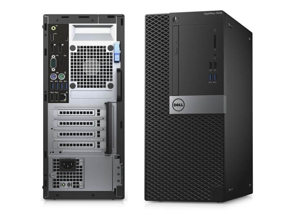 DELL 7040 MINI TOWER I5-6500 3.2 / 8192 MB DDR4 / 512 GB SSD NOVE / DVD-RW / WINDOWS 10 PRO