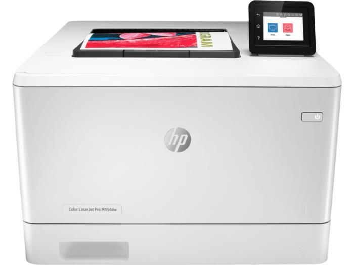 HP COLOR LaserJet Pro M454dw USB 2.0 WiFi ETH Duplex